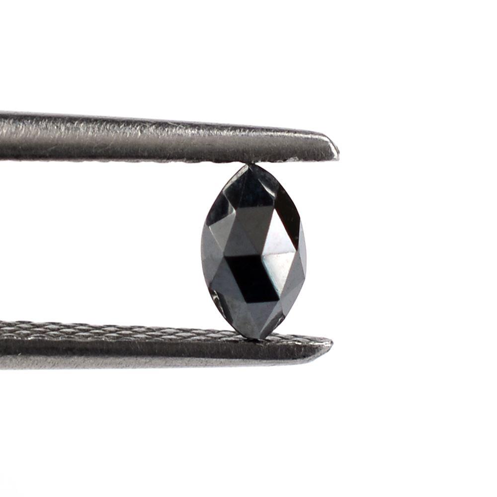 Gun Metal Gemstone Size 11 x 22 x 4 mm ET 5665 Loose Semi Precious Gemstone Natural Hematite Marquise Gemstone Hematite Rose Cut Gemstone