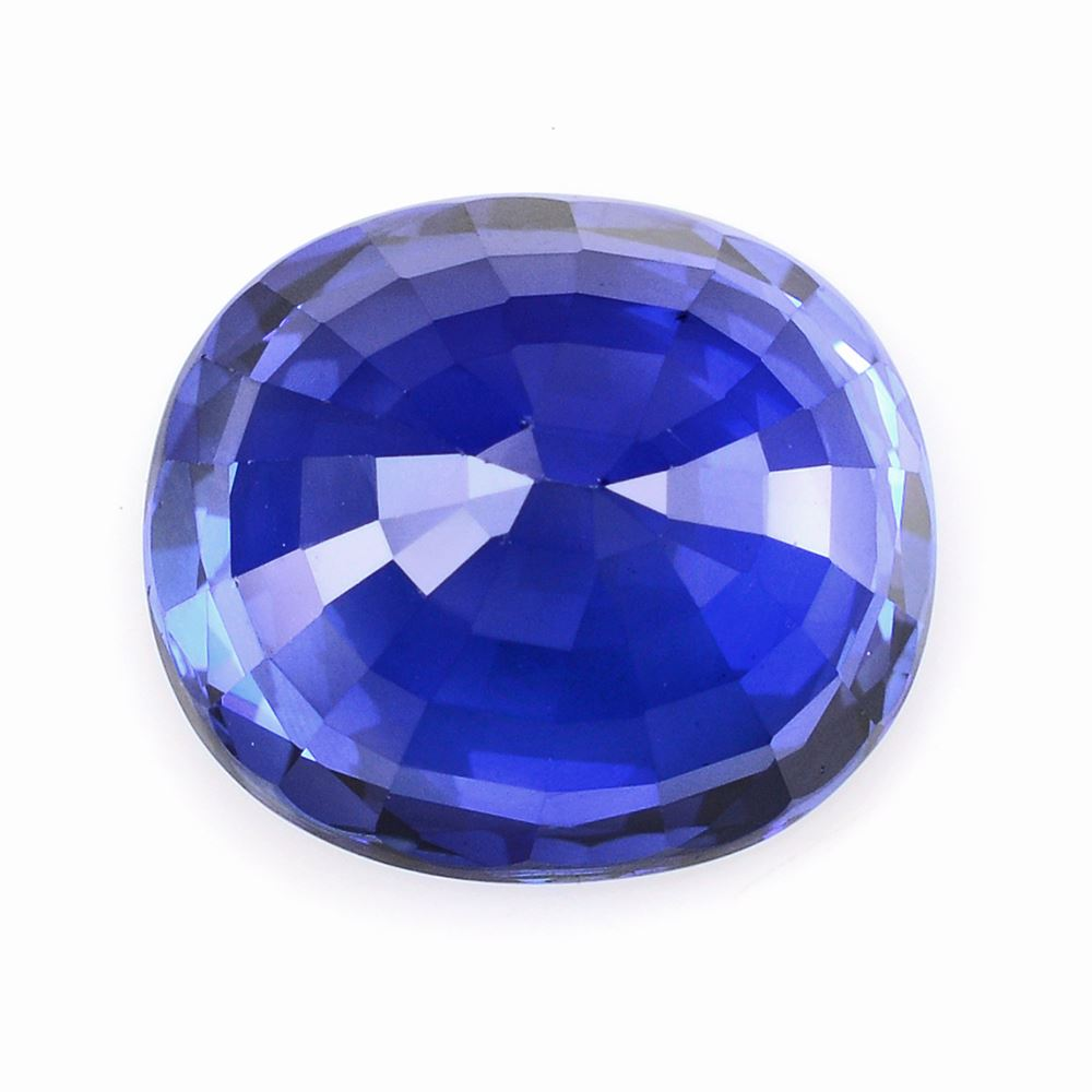 picture blue oval artificial cut diffusion cts sapphire en synthetic of