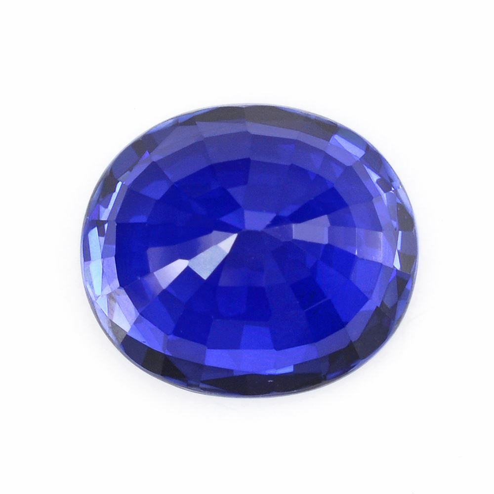en oval sapphire blue picture cut of artificial cts synthetic diffusion