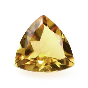 Picture of CITRINE CUT TRILLION (GOLDEN) 7MM 1.01 Cts.