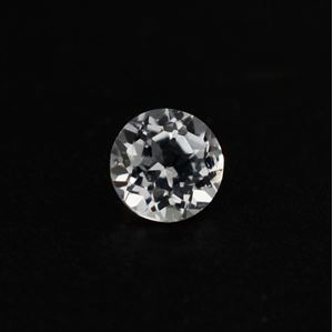 Picture of WHITE TOPAZ CUT ROUND 2MM 0.04 Cts.