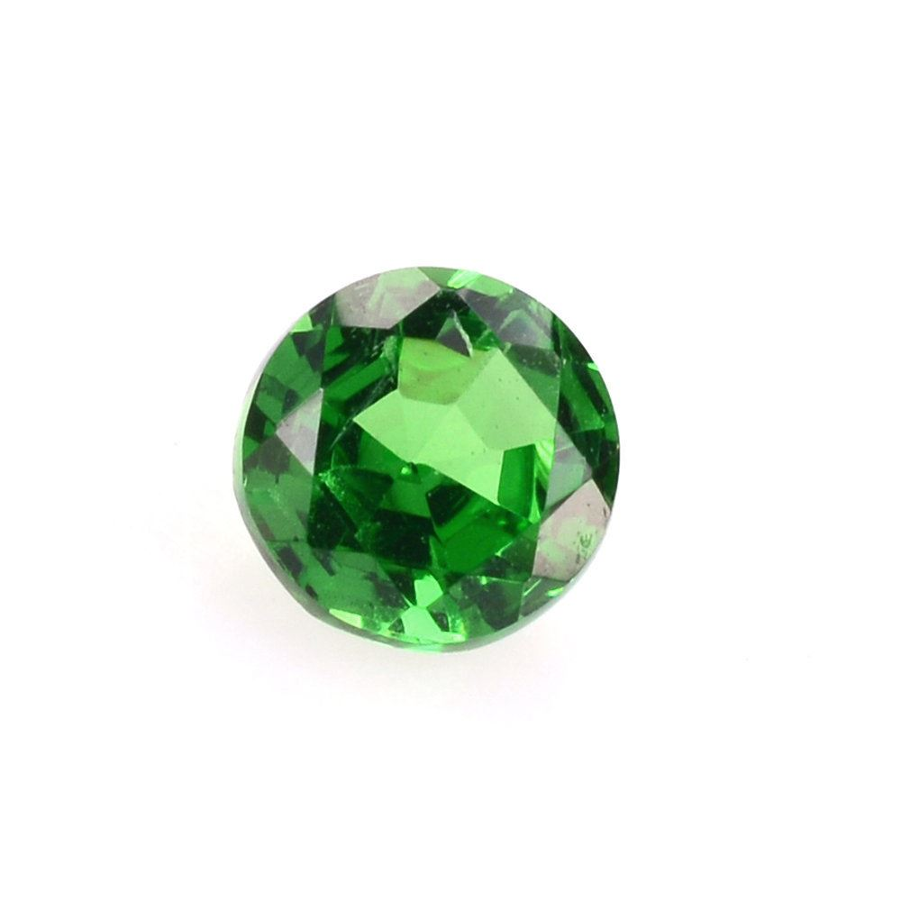 with engagement tsavorite garnet cut halo gemstone white ring oval diamond green gem carat gold